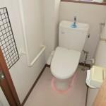 平成25年に新調した【1階シャワートイレ】