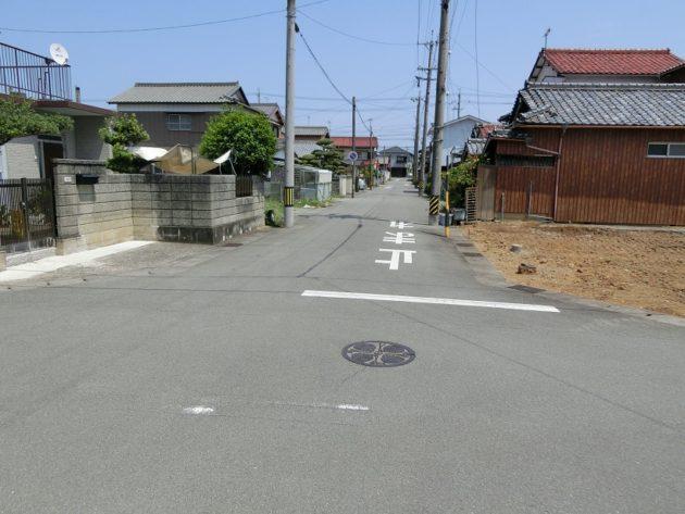 【北側前面道路】