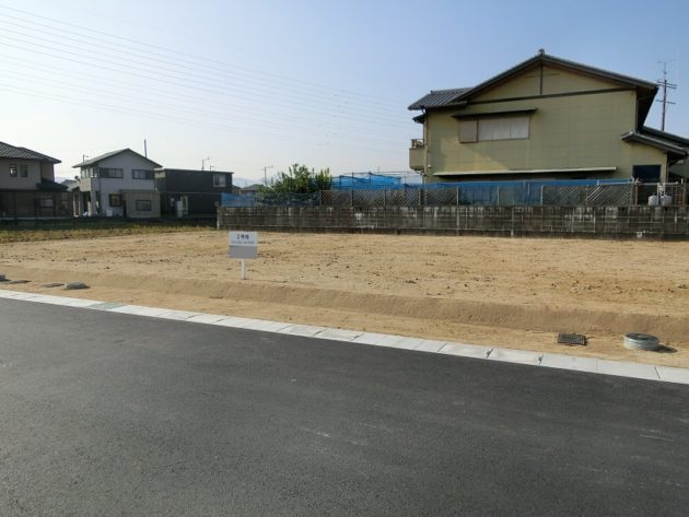 【小黒田町土地外観】