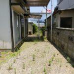【庭兼駐車スペース】