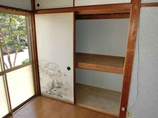 【洋室6帖の収納】