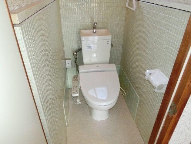 【シャワー付きトイレ】