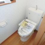 【新調したシャワートイレ】