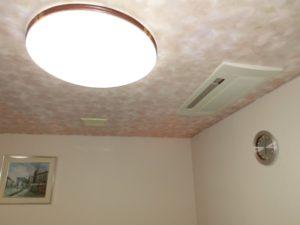 【室内の照明は全て点灯してより明るく見えるように】