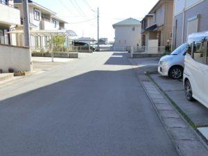 【6mある前面道路】