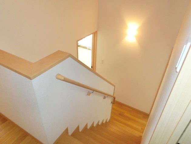 【2.5階より2階を見ると】