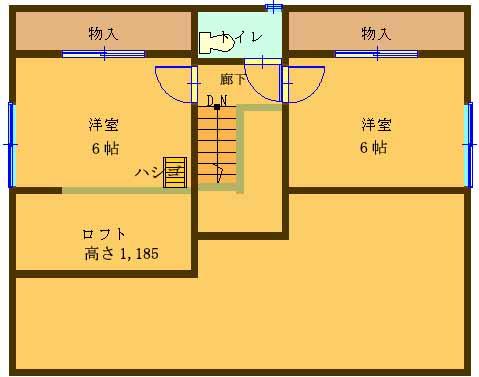 【蔵のある住まい2.5階間取り】