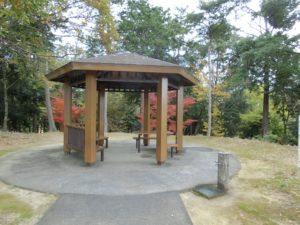 【上川町遊歩道公園展望台】