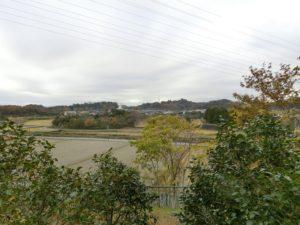 【上川町遊歩道公園展望台付近の景色】