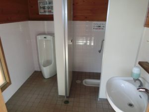 【男子トイレ】