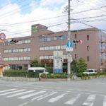 【リヴェール大津より1,600mのところにある桜木記念病院(総合病院)】