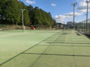 【2面とれるテニスコート】