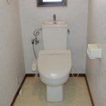 【キレイな1階シャワートイレ】