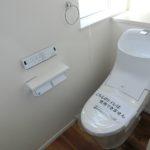 【2連ペーパーホルダーの付いた2階トイレ】