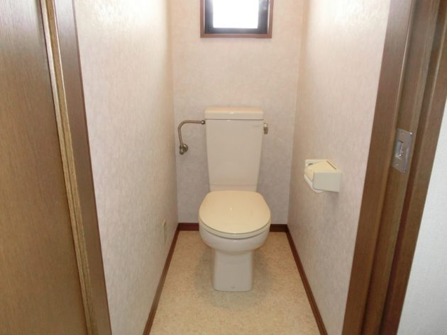 【一般的な洋風トイレです】