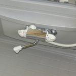 【温度調節が簡単な浴室水栓】
