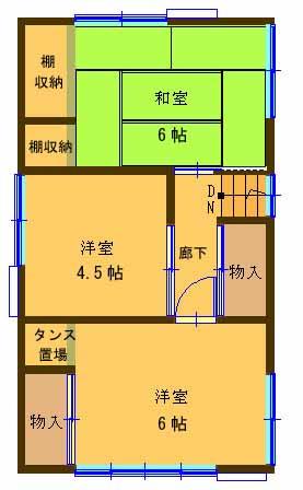 【2階に3室ある住まい】