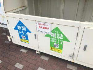 【新聞チラシ・雑誌等スペース】