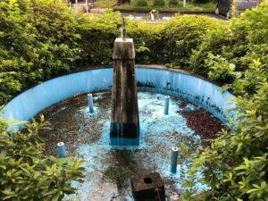 【知らない人も多いと思う市役所の噴水】