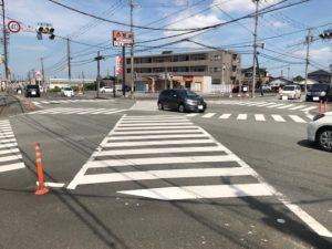 【松阪市にもあるスクランブル交差点】