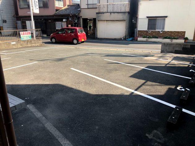 【エミアス駐車スペース1台3,000円/月】