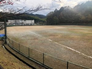 【桂瀬公園上にあるソフトボール場】