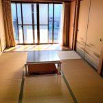 【ダイニングキッチン横にある和室6帖】