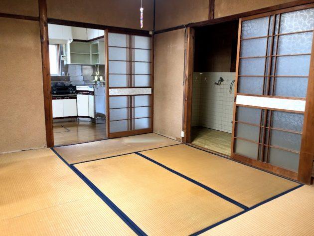 【大黒田町中古住宅1階和室】