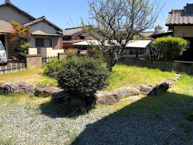 【田原町中古住宅庭】