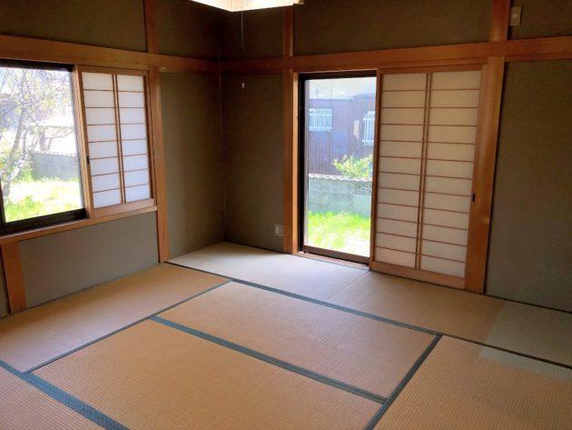 【田原町中古住宅和室8帖】