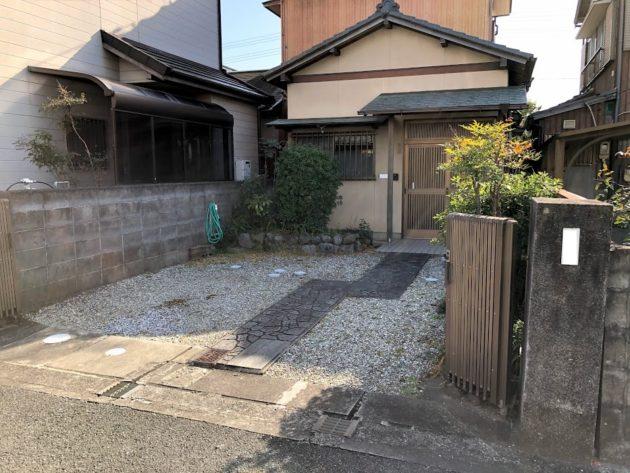 【大黒田町中古住宅駐車場】