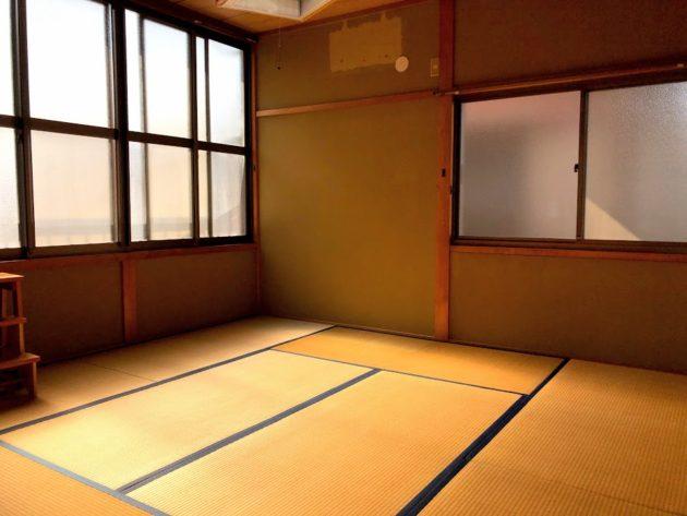 【大黒田町中古住宅2階和室】