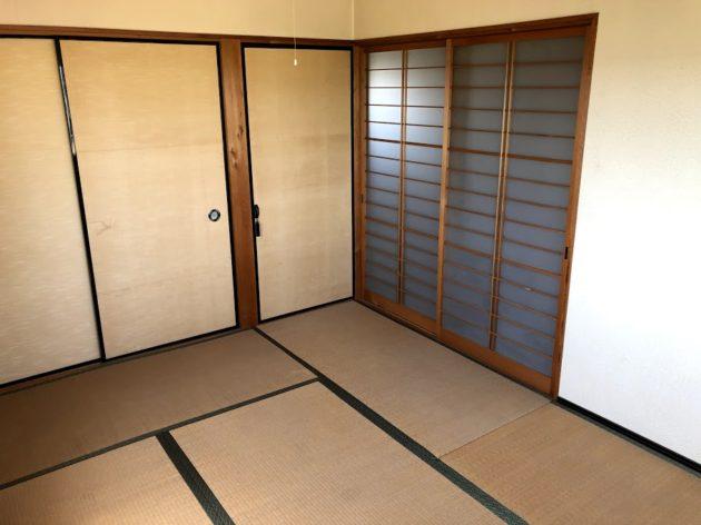 【田原町中古住宅2階和室】