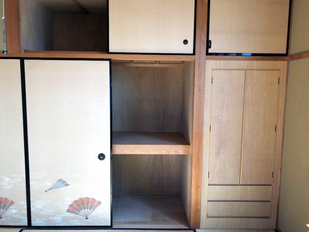 【大黒田町中古住宅2階和室押入】