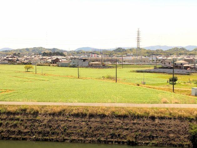 【田原町中古住宅2階からの景色】