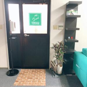 【松阪市下村町に新しくオープンした完全予約の隠れ家サロン・エゴイスト玄関スペース】