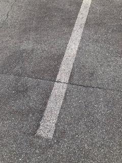 白線補修前